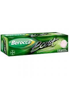 BEROCCA BOOST EFFERVESCENTE 15 COMPRESSE
