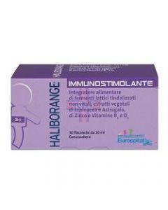 HALIBORANGE IMMUNOSTIMOLANTE 10 FLACONCINI 10 ML