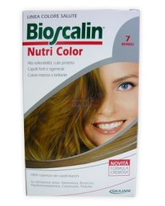BIOSCALIN NUTRI COLOR 7 BIONDO SINCROB 124 ML