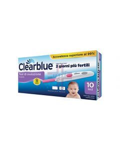 TEST OVULAZIONE CLEARBLUE OVULATION DIGITAL 10 STICK