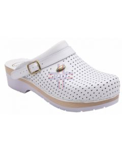CLOG S/COMF.B/S CE BYCAST BIS UNISEX WHITE WOODS BIANCO 41