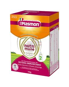 PLASMON NUTRIMUNE LATTE STAGE 2 POLVERE 700 G