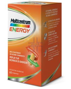 MULTICENTRUM MC ENERGY 60 COMPRESSE