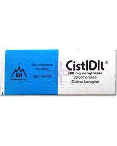 CISTIDIL*30 cpr 500 mg