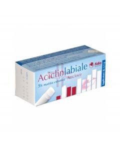 ACICLINLABIALE*matita cutanea 2.5 g 5%