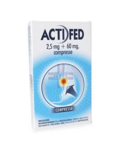ACTIFED*12 cpr 2.5 mg + 60 mg