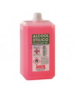 ALCOOL ETIL DENAT 90% 1L