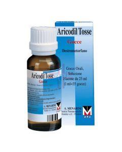 ARICODIL TOSSE*orale gtt 25 ml 0.375 g