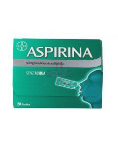 ASPIRINA*20 bust grat 500 mg