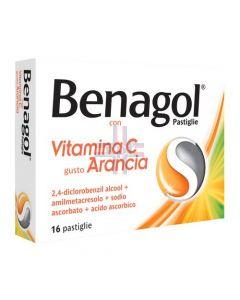 BENAGOL VITAMINA C*16 pastiglie arancia