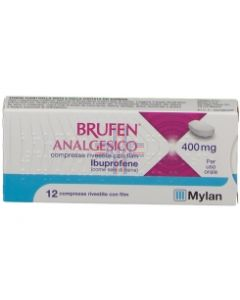 BRUFEN ANALGESICO*12 cpr riv 400 mg