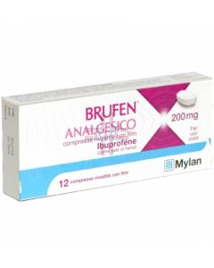BRUFEN ANALGESICO*12 cpr riv 200 mg