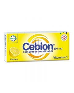 CEBION 500*20 cpr mast 500 mg limone