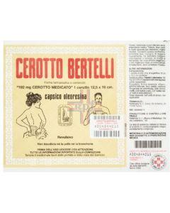CEROTTO BERTELLI*cerotto medio 16 x 12 cm 3.3%