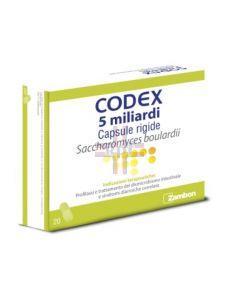 CODEX*20 cps 5 mld 250 mg blister