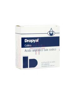 DROPYAL*20 monodosi collirio 0.65 ml 0.015 g/100 ml