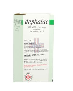 DUPHALAC*sciroppo 200 ml 66.7 g/100 ml flacone