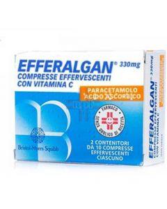 EFFERALGAN*20 cpr eff 330 mg + 200 mg