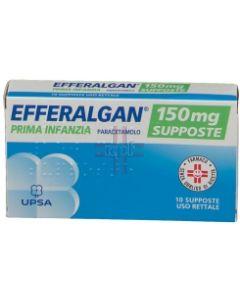 EFFERALGAN*10 supp 150 mg