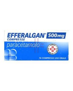 EFFERALGAN*16 cpr 500 mg