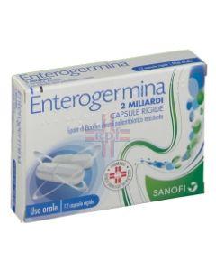 ENTEROGERMINA*12 cps 2 mld