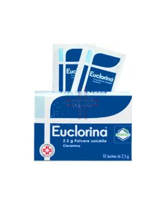 EUCLORINA*10 bust polv u.e. 2.5 g