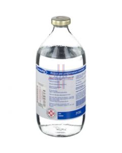 ACQUA PER PREPARAZIONI INIETTABILI (EUROSPITAL)*1 flacone 500 ml