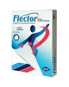 FLECTOR*10 cerotti medicati 180 mg