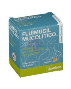 FLUIMUCIL MUCOLITICO*30 bust grat 200 mg senza zucchero