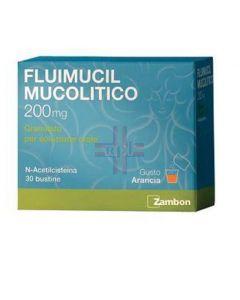 FLUIMUCIL MUCOLITICO*30 bust grat 200 mg