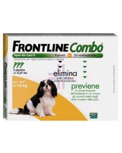 FRONTLINE COMBO SPOT-ON CANI P*soluz 3 pipette 0.67 ml 67 mg+ 60.3 mg cani da 2 a 10 Kg