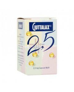 GUTTALAX*30 cps molli 2.5 mg