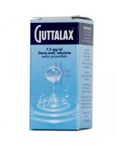 GUTTALAX*orale gtt 15 ml 7.5 mg/ml