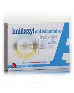 IMIDAZYL ANTISTAMINICO*10 monod collirio 0.5 ml 1 mg/ml + 1mg/ml