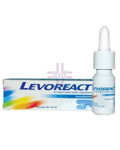LEVOREACT*spray nasale 10 ml 0.5 mg/ml