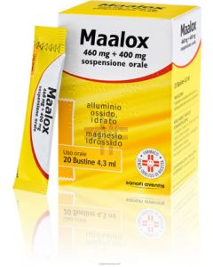 MAALOX*OS 20 BUST 460 MG.+400 MG.
