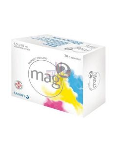 MAG 2*orale soluz 20 flaconcini 10 ml 1.5 g/10 ml
