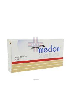 MECLON*10 ovuli vag 100 mg + 500 mg