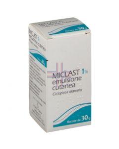 MICLAST*emuls derm 30 g 1%