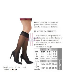 GAMBALETTO MISS RELAX 140 SHEER NERO 3-L 1 PAIO