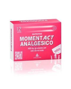 MOMENTACT ANALGESICO*12 bust grat 400 mg