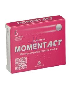 MOMENTACT*6 cpr riv 400 mg