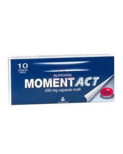 MOMENTACT*10 cps molli 400 mg