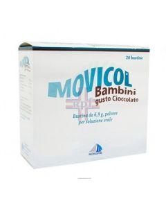 MOVICOL*BB 20 bust polv orale 6.9 g cioccolato