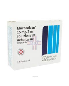 MUCOSOLVAN*soluz nebul 6 fiale 15 mg 2 ml