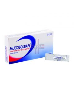 MUCOSOLVAN*BB 10 supp 30 mg