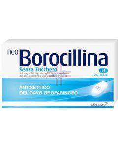NEOBOROCILLINA*16 pastiglie 1.2 mg + 20 mg senza zucchero