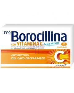 NEOBOROCILLINA C*16 pastiglie 1.2 mg + 70 mg senza zucchero