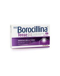 NEOBOROCILLINA TOSSE*20 pastiglie 10 mg + 1.2 mg