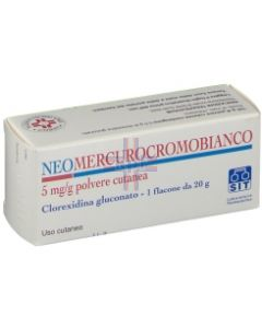 NEOMERCUROCROMO BIANCO*polv u.e. 20 g